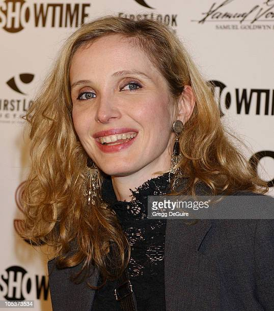 Julie Delpy during Mayor of the Sunset Strip Los Angeles Premiere Arrivals at Egyptian Theatre in Hollywood California United States