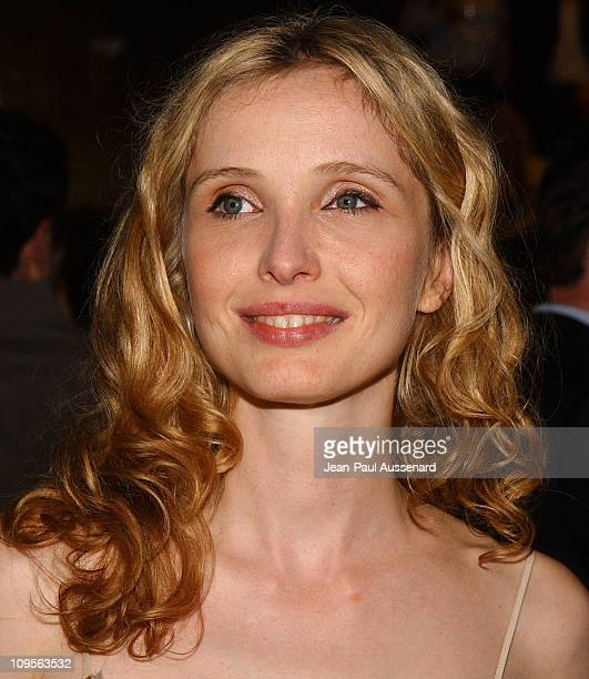 Julie Delpy during Prada Opens Beverly Hills Epicenter Arrivals at Rodeo Drive in Beverly Hills California United States
