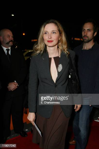 "Julie Delpy during Special Presentation of Paramount Vantage's ""Babel"" at Mann Village Theatre in Westwood, CA, United States."