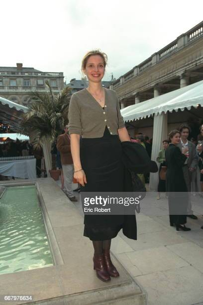 Julie Delpy during the buffet before a ball to close the 3 days of the 'Fete du Cinema'