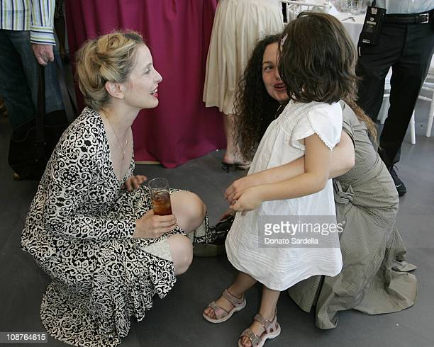 Julie Delpy Tatiana Von Furstenberg and her daughter Antonia Steinberg