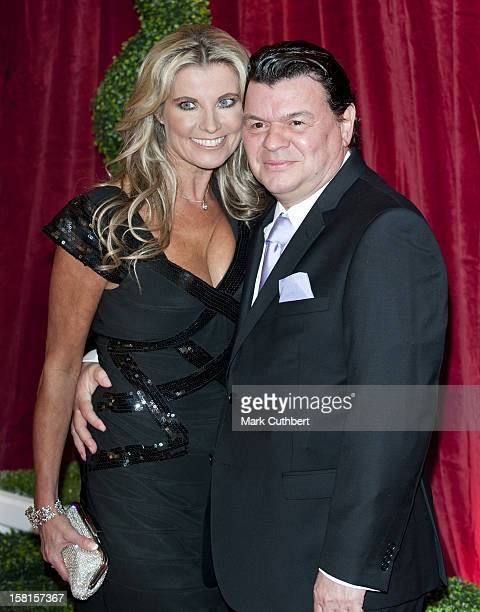 Julie Dennis And Jamie Foreman Arriving For The 2012 British Soap Awards At Itv London Studios, South Bank, London.