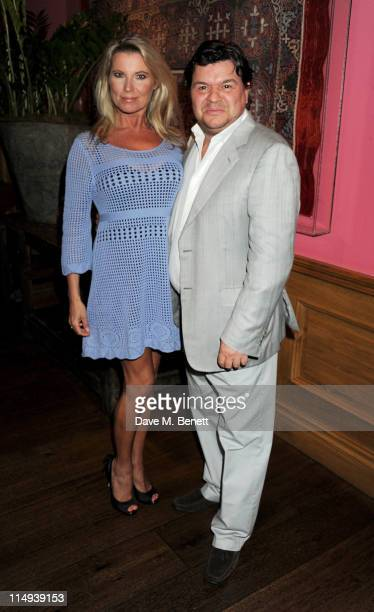 Julie Dennis and Jamie Foreman attend the UK Premiere of Screwed at the Soho Hotel on May 30, 2011 in London, England.