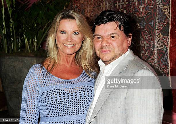 Julie Dennis and Jamie Foreman attend the UK Premiere of Screwed at the Soho Hotel on May 30 2011 in London England
