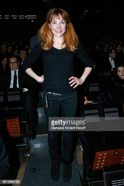 Julie Depardieu attends the AROP Charity Gala with the epresentation of Carmen at Opera Bastille on March 10 2017 in Paris France