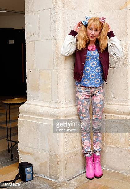Julie Depardieu poses during the photocall of 'La Famille Katz' at 15th Festival of TV Fiction on September 14 2013 in La Rochelle France
