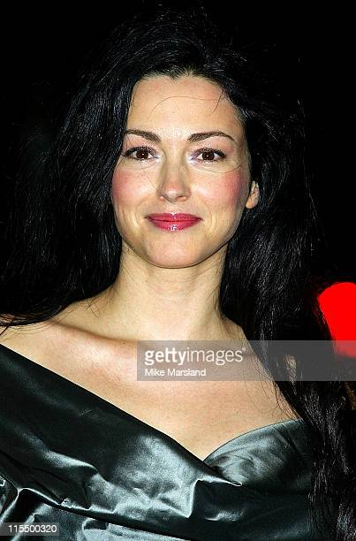 Julie Dreyfus during 2004 Sony Ericsson Empire Film Awards Arrivals at Dorchester Hotel in London Great Britain