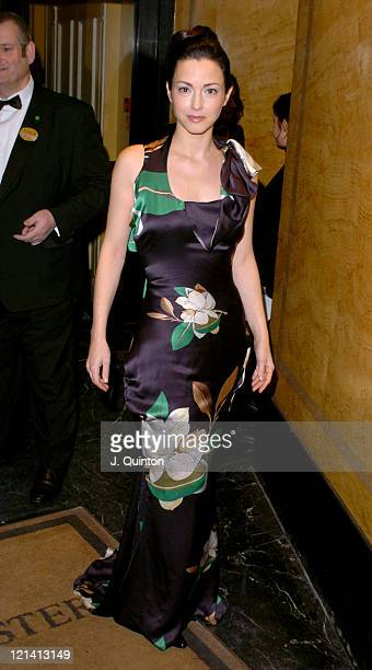 Julie Dreyfus during 24th London Film Critics' Circle Awards Arrivals at The Dorchester Hotel in London Great Britain