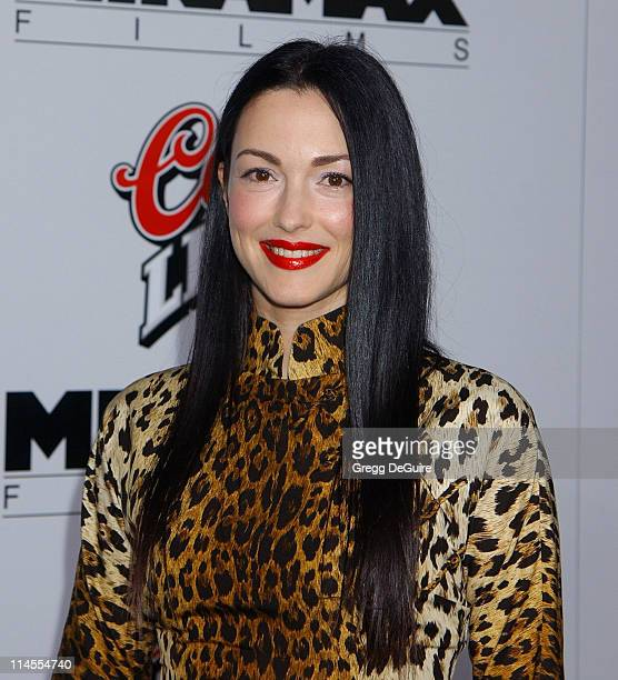 Julie Dreyfus during Kill Bill Vol 1 Premiere Arrivals at Grauman's Chinese Theatre in Hollywood California United States