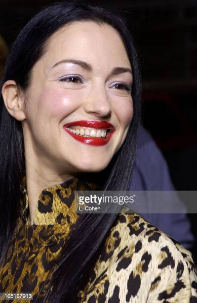 Julie Dreyfus during Kill Bill Vol 1 Premiere Red Carpet at Grauman's Chinese Theater in Hollywood California United States