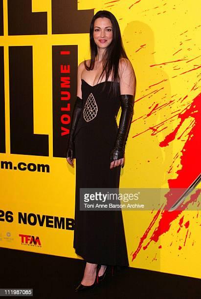 Julie Dreyfus during Kill Bill Volume 1 Premiere in Paris at Grand Rex Theater in Paris France