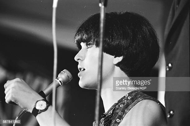 Julie Driscoll of Steampacket performs on stage at the National Jazz and Blues Festival Richmond United Kingdom 8th August 1965
