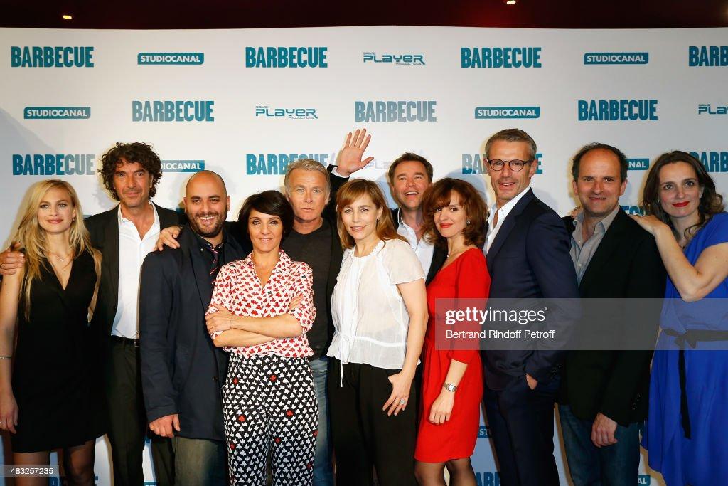 'Barbecue' Premiere At Opera Gaumont Capucines