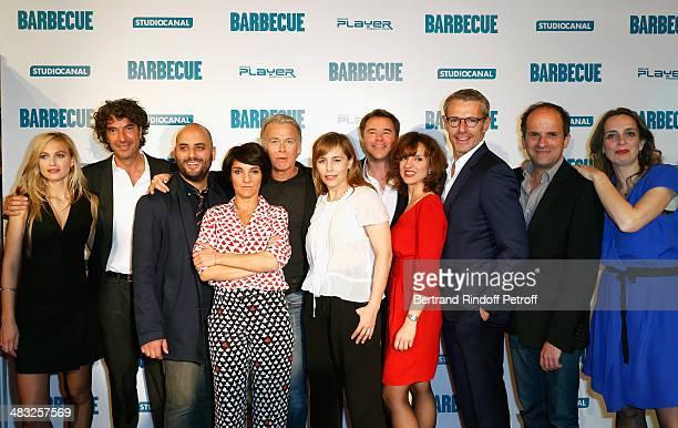 Julie Engelbrecht, Eric Lavaine, Jerome Commandeur, Florence Foresti, Franck Dubosc, Sophie Duez, Guillaume De Tonquedec, Lysiane Meis, Lambert...