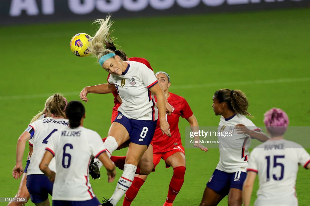 2021 SheBelieves Cup - United States v Canada : ニュース写真