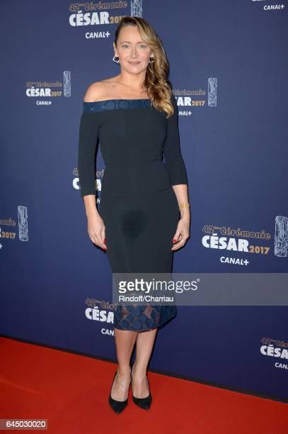 Julie Ferrier arrives at the Cesar Film Awards Ceremony at Salle Pleyel on February 24 2017 in Paris France