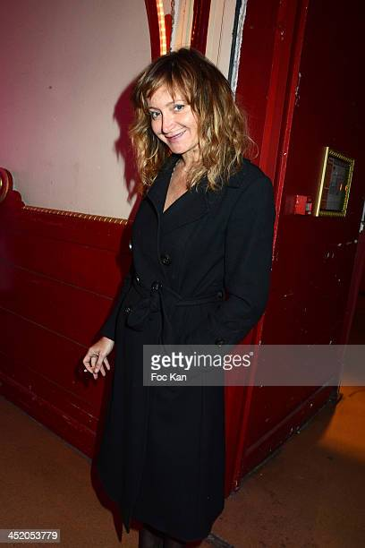 Julie Ferrier attends Le Fooding 2013 Culinary Awards at the Cirque d'Hiver on November 25 2013 in Paris France