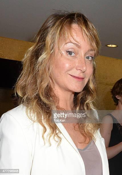 Julie Ferrier attends 'Les Nuits En Or 2015'Hosted by Academie des Cesar At Unesco In Paris on June 15 2015 in Paris France