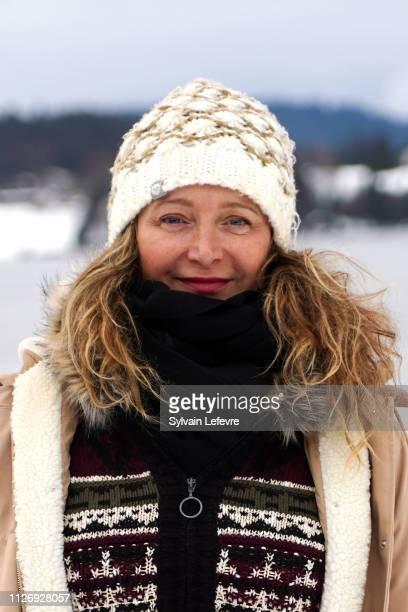 Julie Ferrier attends the 26th Gerardmer Fantastic Film Festival Day Four on February 02 2019 in Gerardmer France