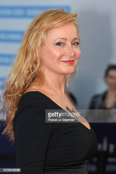 Julie Ferrier attends the Galveston Premiere during the 44th Deauville American Film Festival on September 1 2018 in Deauville France