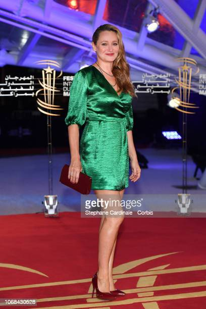 Julie Ferrier attends the Green Book Premiere during the 17th Marrakech International Film Festival on December 4 2018 in Marrakech Morocco