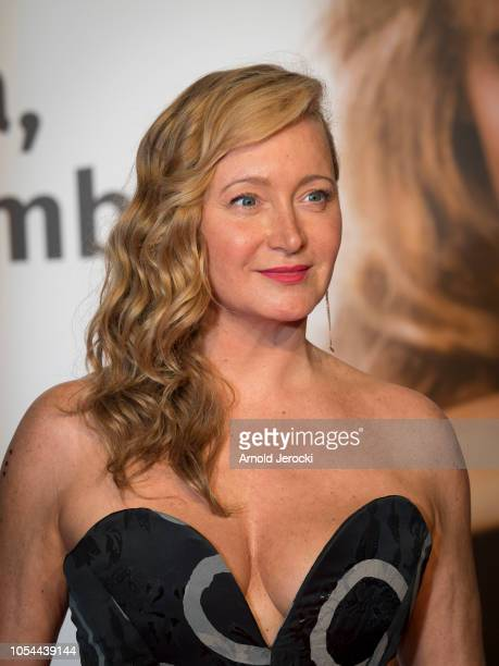 Julie Ferrier attends the opening ceremony during the 10th Film Festival Lumiere on October 13 2018 in Lyon France