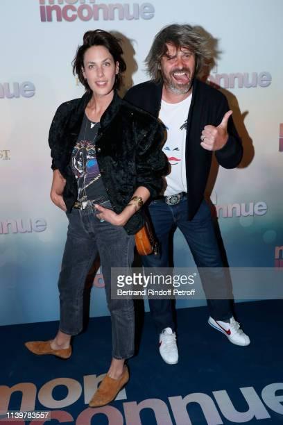 Julie Fournier and Benjamin Seznec attend the Mon Inconnue Paris Premiere at Cinema UGC Normandie on April 01 2019 in Paris France