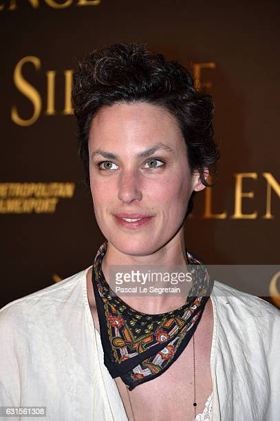 Julie Fournier attends Silence Premiere at Musee National Des Arts Asiatiques Guimet on January 12 2017 in Paris France