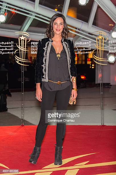 Julie Fournier attends the 'The Zero Theorem' premiere At 13th Marrakech International Film Festival on December 2, 2013 in Marrakech, Morocco.