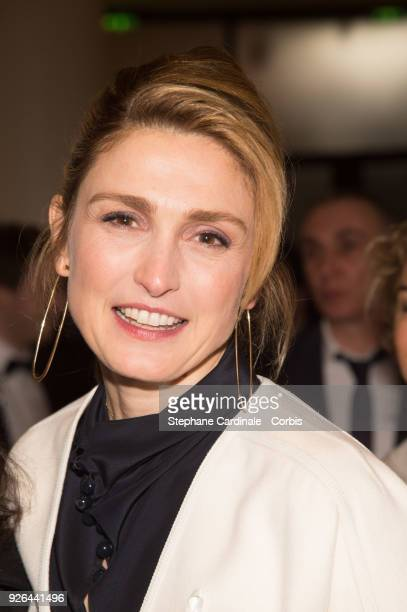 Julie Gayet at Salle Pleyel on March 2 2018 in Paris France