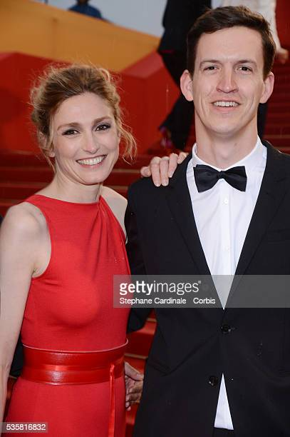 """Julie Gayet at the premiere for """"Amour"""" during the 65th Cannes International Film Festival."""
