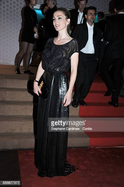 Julie Gayet at Winners Dinner Arrivals during the 65th Cannes International Film Festival