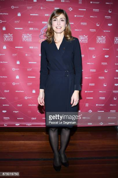 Julie Gayet attends Paris Courts Devant Opening Ceremony at Bibliotheque Nationale de France on November 16 2017 in Paris France