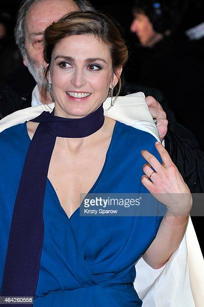 Julie Gayet attends the 40th Cesar Film Awards at Theatre du Chatelet on February 20 2015 in Paris France