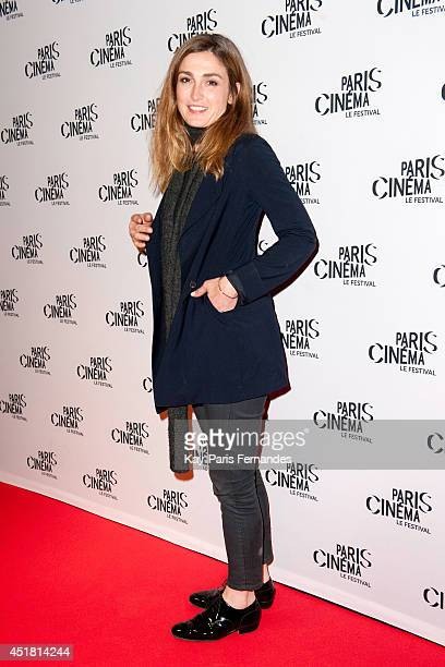 Julie Gayet attends the Paris premiere of 'Cineasts' on day 3 of the Fesitval Paris Cinema on July 7 2014 in Paris France