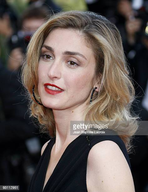 Julie Gayet attends the premiere of 'Coco Chanel Igor Stravinsky' at the Palais De Festivals during the 62nd Annual Cannes Film Festival on May 24...