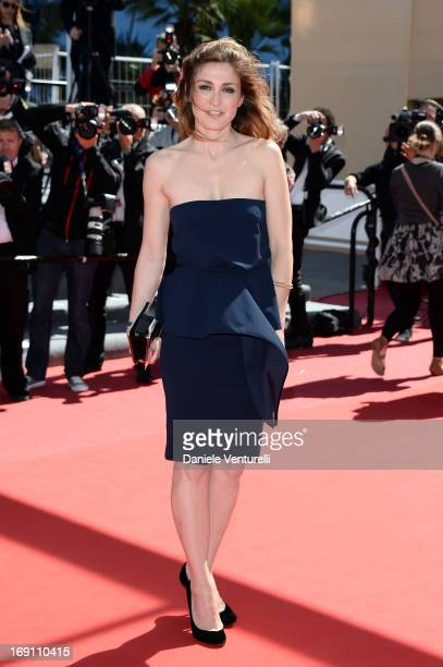 Julie Gayet attends the Premiere of 'Un Chateau En Italie' during the 66th Annual Cannes Film Festival at the Palais des Festivals on May 20 2013 in...