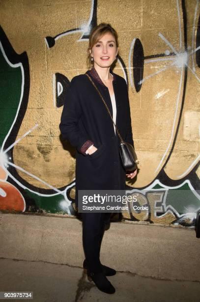 Julie Gayet attends the Vendorama Exhibition Boucheron Celebrates Its 160 Anniversary at Monnaie de Paris on January 11 2018 in Paris France
