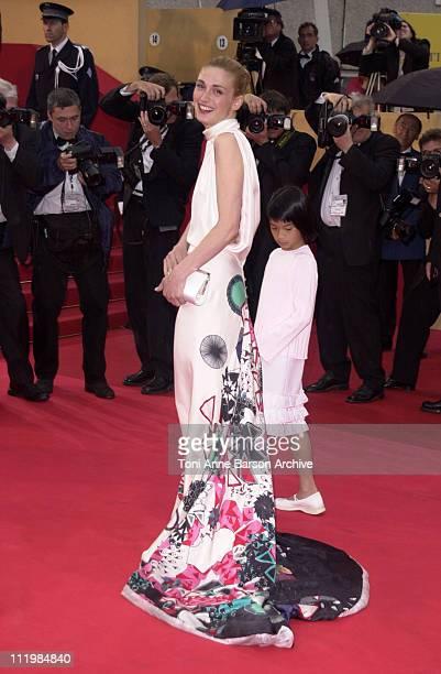 "Julie Gayet during Cannes 2002 - ""Spirit: Stallion of the Cimarron"" Premiere at Palais des Festivals in Cannes, France."