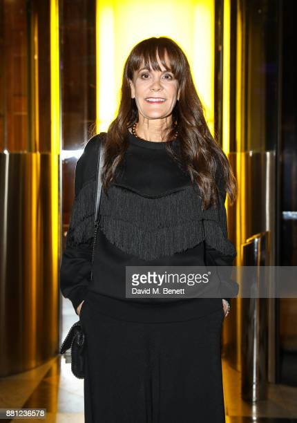 Julie Gilhart attends the launch of the Circular Fibres Initiate Report 'Towards A New Textiles Economy' hosted by Dame Ellen MacArthur and Stella...
