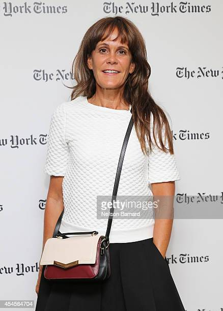 Julie Gilhart attends the New York Times Vanessa Friedman and Alexandra Jacobs welcome party on September 3 2014 in New York City