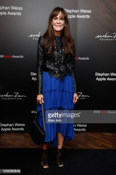 Julie Gilhart attends the Stephan Weiss Apple Awards at Urban Zen on October 24 2018 in New York City