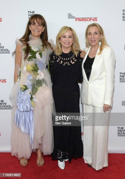 Julie Gilhart, Julie Wainwright, and Susan Rockefeller attend the 71st Annual Parsons Benefit honoring Pharrell, Everlane, StitchFix & The RealReal...
