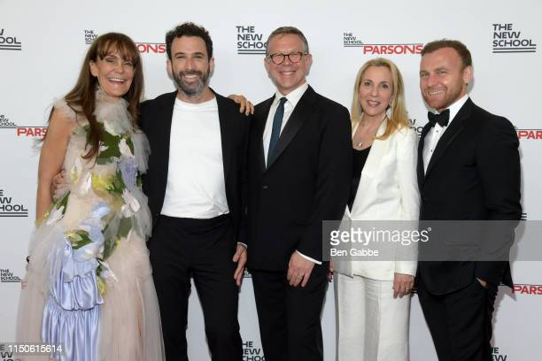 Julie Gilhart, Michael Preysman, Executive Dean of Parsons School of Design Joel Towers, Susan Rockefeller, and Burak Cakmak attends the 71st Annual...