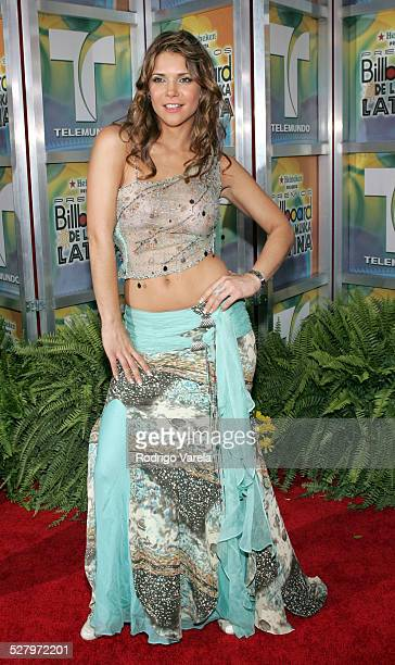 Julie Giliberti during 2005 Billboard Latin Music Awards Arrivals at Miami Arena in Miami Florida United States