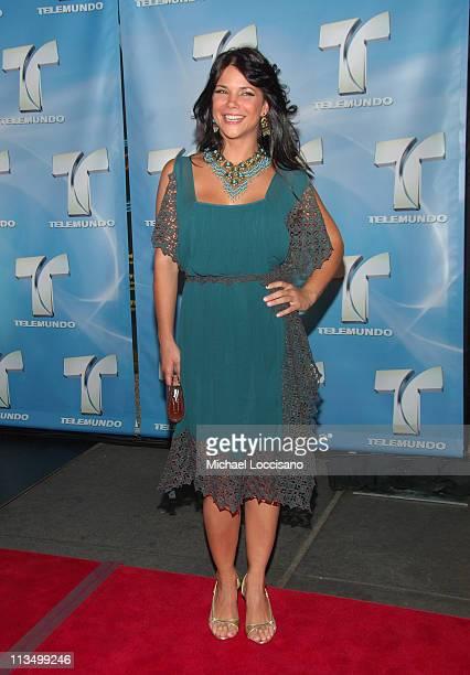 Julie Giliberti during 2007 Telemundo Upfront at Radio City Music Hall in New York City, New York, United States.