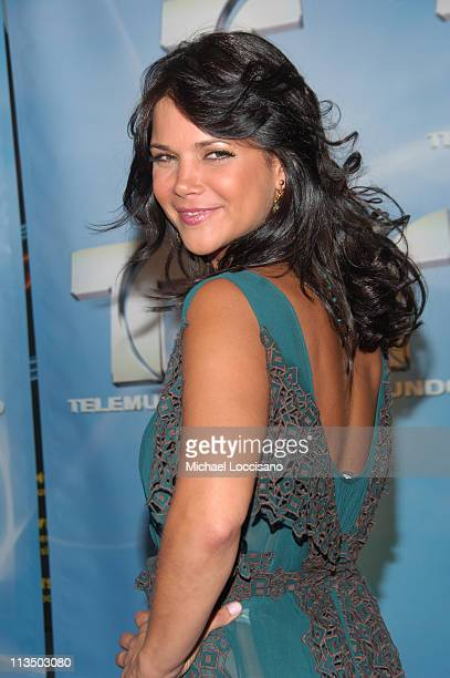 Julie Giliberti during 2007 Telemundo Upfront at Radio City Music Hall in New York City New York United States