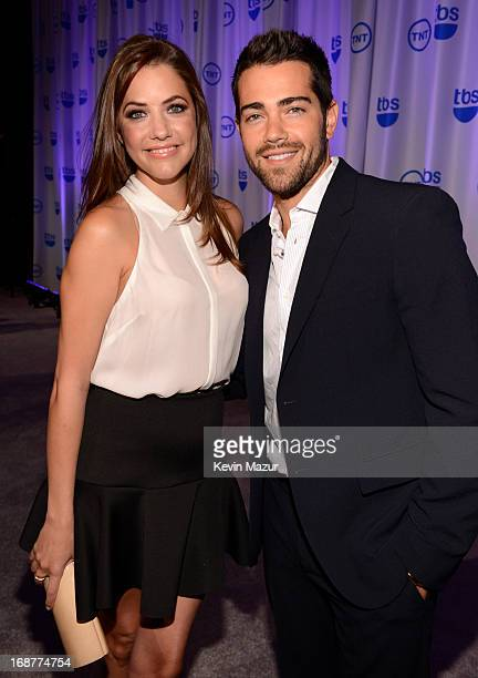 Julie Gonzalo and Jesse Metcalfe attend the 2013 TNT/TBS Upfront at Hammerstein Ballroom on May 15 2013 in New York City 23562_002_0249JPG