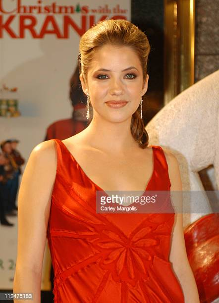 Julie Gonzalo during Christmas with the Kranks New York Premiere at Radio City Music Hall in New York City New York United States