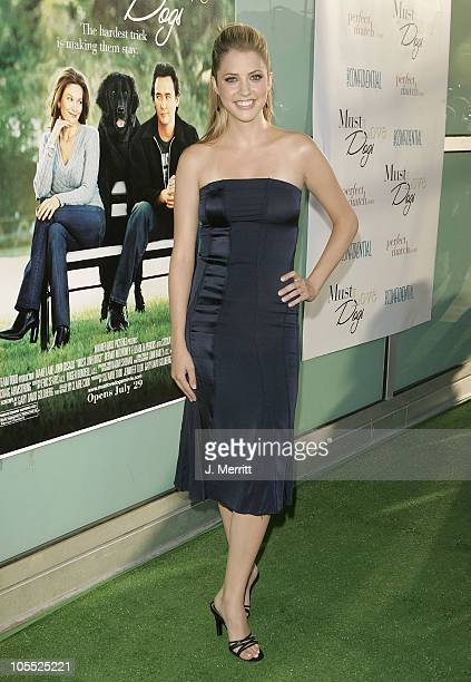Julie Gonzalo during Must Love Dogs Los Angeles Premiere at Cinerama Dome in Hollywood California United States